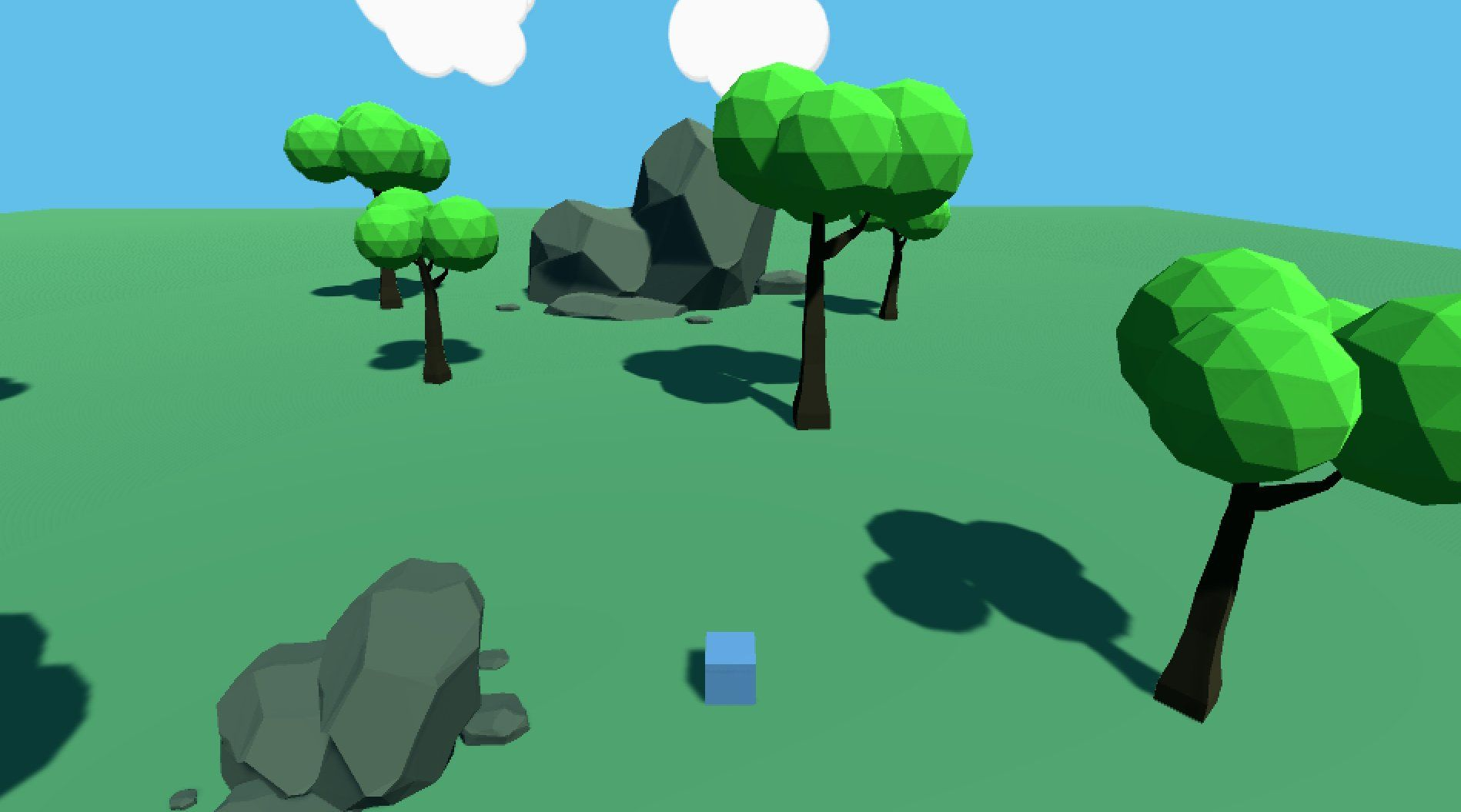 3D Action Game Progress